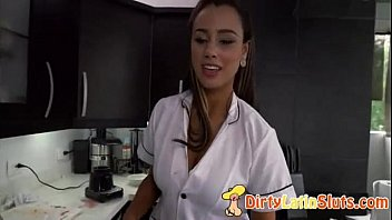 latina-pornography with wondrous spanish maid