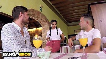 bangbros - supah-hot youthful waitress apolonia working rock-hard.