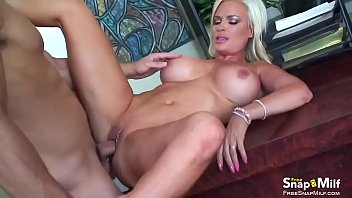 sensual cougar plows in her office