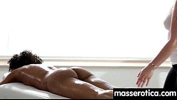 Sexy girl gives big tits lesbian an orgasm 1