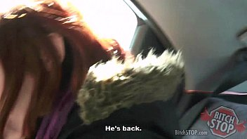 superslut stop - crimson haired teenage hitchhiker monca.