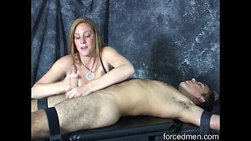 dominatrix strokes and smacks a crazy.