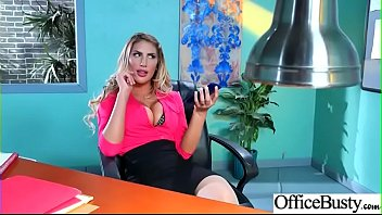 rigid hump with fat chubby melons horny office.