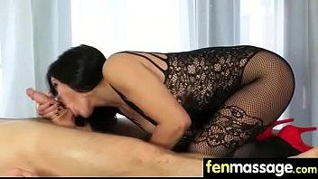 supah-sexy lean gets a rubdown 12