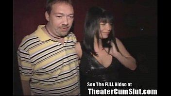 MILF Slut Gets Anal Creampies From Strangers In Tampa Porn Theater