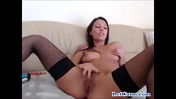 Stockings sexy girl in webcam chat