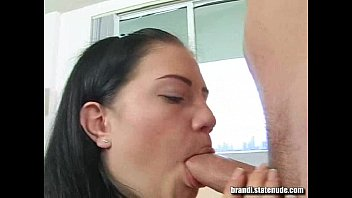 brandi belle lunch break blow-job