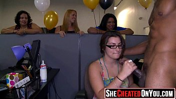 42 cougars caught cuckold on flick at cfnm party09