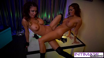 intimate lezzies - jessica jaymes and abigail mac.