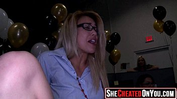 38 cougars caught hotwife on vid at cfnm party14