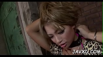Beautiful asian chick likes to get ball batter in her magic mouth