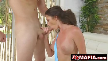 Dirty MILF Silvia Saige Gets Pounded By Young Cock