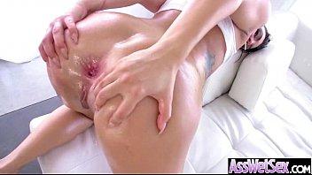 Anal Hardcore Sex With Big Curvy Oiled Butt Slut Girl (rachael madori) mov-25