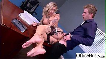 Hardcore Intercorse In Office With Big Round Tits Girl (Kleio Valentien) mov-13