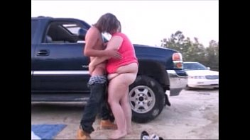 Young Teen Give Sex For Car Trouble Help, Orgasm Creampie