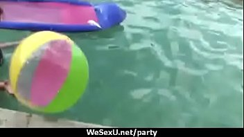 Party orgy college wild chick fucked in group 21