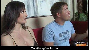 hot milf mom make a blowjob and ride a big black cock interracial 10