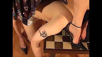 beautiful girl dominance foot fetish