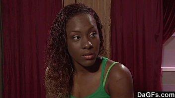 ebony stripper poked by her customer