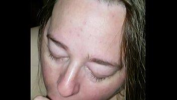 trailer park milf sucking bbc while husband sleep in livingroom