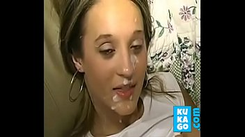 teenie with humungous knockers gets facial cumshot another.