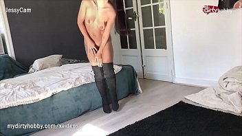 My Dirty Hobby - Petite amateur gets her pussy creamed