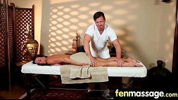 Deepthroat Blowjob From Big Tits Massage Girl 19