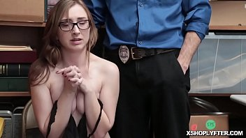 Teen shoplifter blowjob the LP Officer