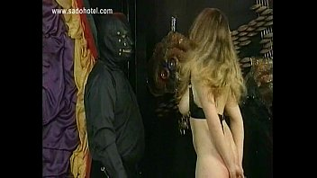victim with good figure ample knockers caught in.