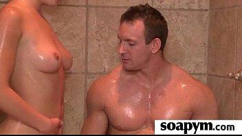 sisters pal gives him a soapy.