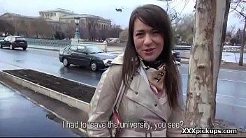 Cutie amateur teen european whore fuck tourist for cash 04