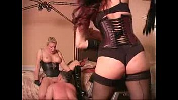 flagellated while eating domme cunt - girl domination tube
