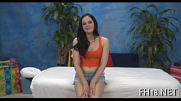 Sexy naked massage