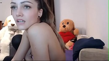 Stunning Teen masturbates in stockings in live camshow - more on teenmilfcams.co