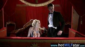 Hungry For Big Cock Slut Milf Enjoy It On Cam clip-27
