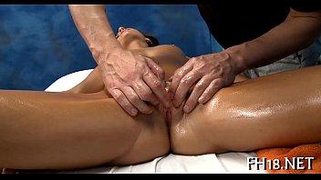 Naked massage clips