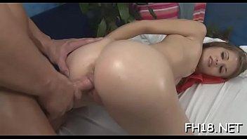 Hawt naked massage