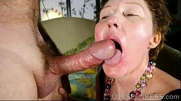 supah lovely aged girl enjoys to deep-gullet prick.