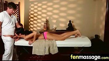 Deepthroat Blowjob From Big Tits Massage Girl 22