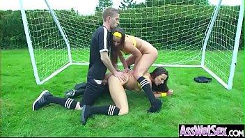 Naughty Girl (Amirah Adara &amp_ Mea Melone) With Big Ass Get Anal Hard Sex vid-08