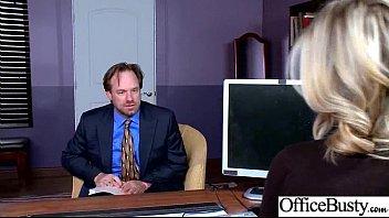 (Kleio Valentien) Sexy Big Tits Office Girl Love Hard Sex clip-20