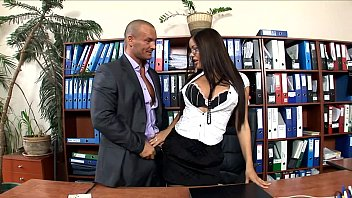 Office secretary fucked in stockings and heels