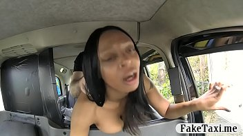 slum girl gets plumbed by faux driver for.
