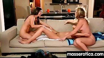 Sensual lesbian sex, kissing, orgasms 27