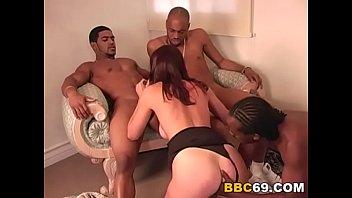 anal penetration bitch brooke gets group-romped by ebony pricks