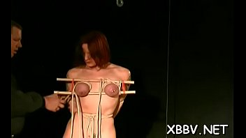 Naked woman shows off in complete breast thraldom x video