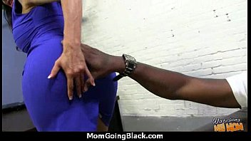 magnificent mother gets a mammary facial cumshot after.