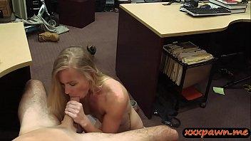 Slender blond slut nailed by pawn keeper