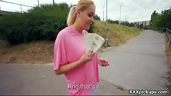 Teen Czech Girl Sucking Cock For Cash In Public Video 27
