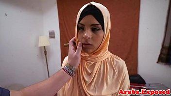 ethnic arab stunner gets ravaged and.